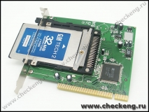 PCMCIA to PCI Interface Card Drive